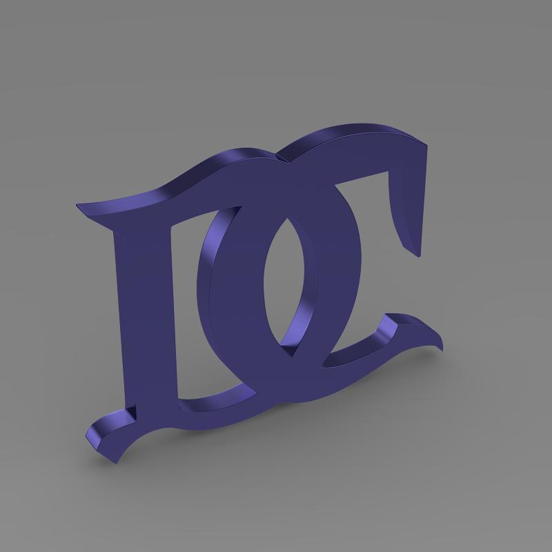 darracq logo 3d model 3ds max fbx c4d lwo ma mb hrc xsi obj 152825