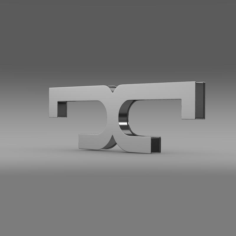 de tomaso logo 3d model 3ds max fbx c4d lwo ma mb hrc xsi obj 117199