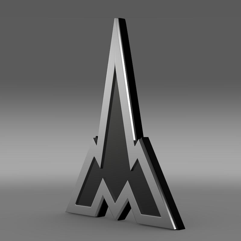 deutz logo 3d model 3ds max fbx c4d lwo ma mb hrc xsi obj 117478