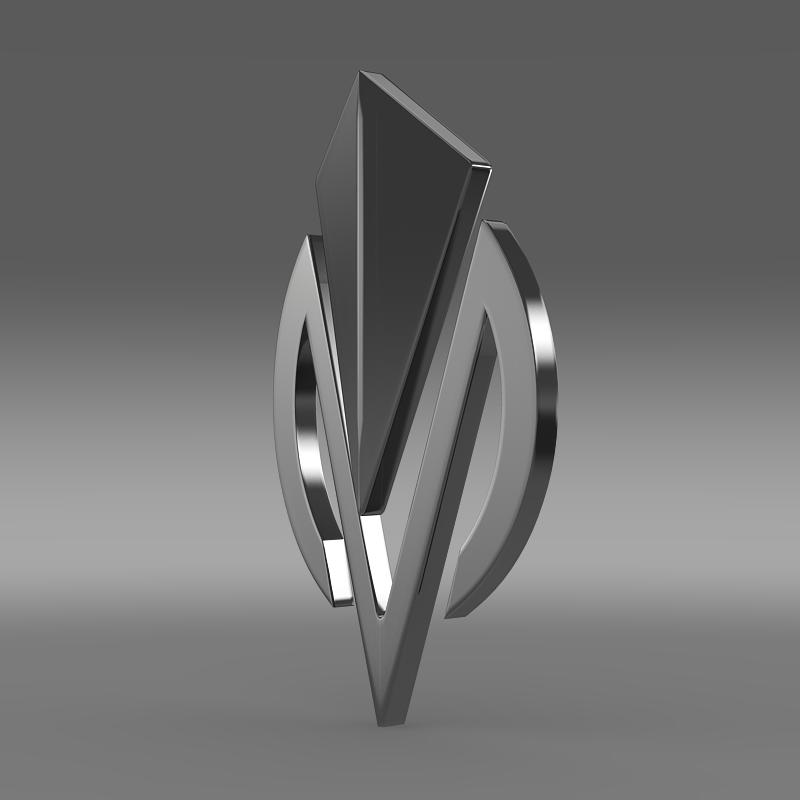 dimora logo 3d model 3ds max fbx c4d lwo ma mb hrc xsi obj 152834