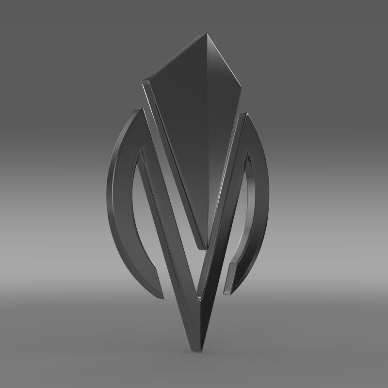 dimora logo 3d model 3ds max fbx c4d lwo ma mb hrc xsi obj 152836