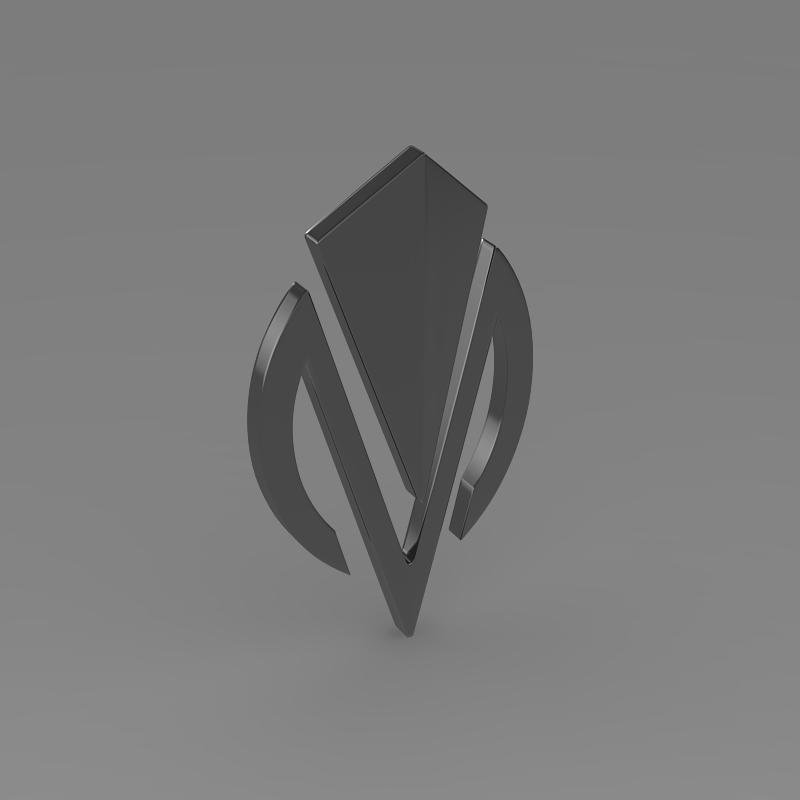 dimora logo 3d model 3ds max fbx c4d lwo ma mb hrc xsi obj 152839