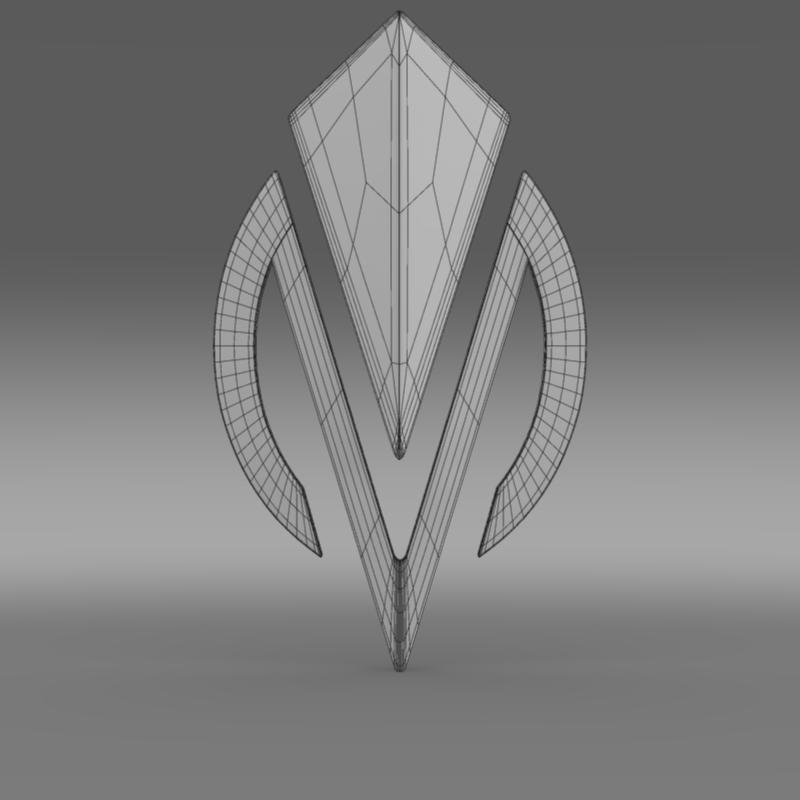 dimora logo 3d model 3ds max fbx c4d lwo ma mb hrc xsi obj 152840