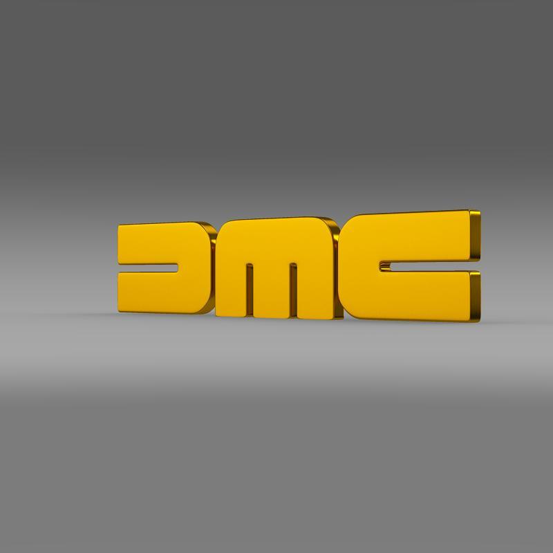 dmc logo 3d model 3ds max fbx c4d lwo ma mb hrc xsi obj 119104