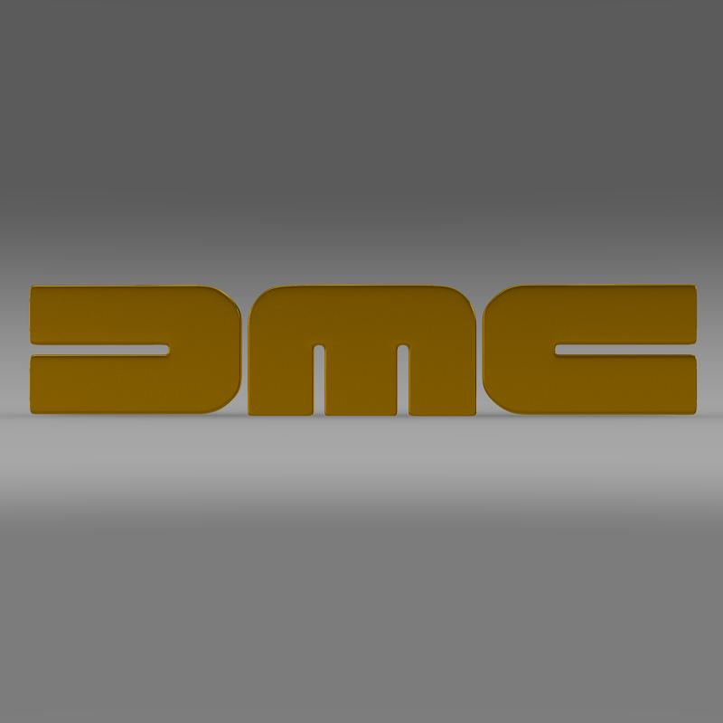 dmc logo 3d modelis 3ds max fbx c4d lwo ma mb hrc xsi obj 119105