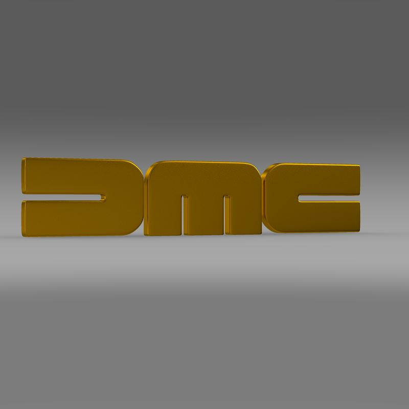 dmc logo 3d modelis 3ds max fbx c4d lwo ma mb hrc xsi obj 119106