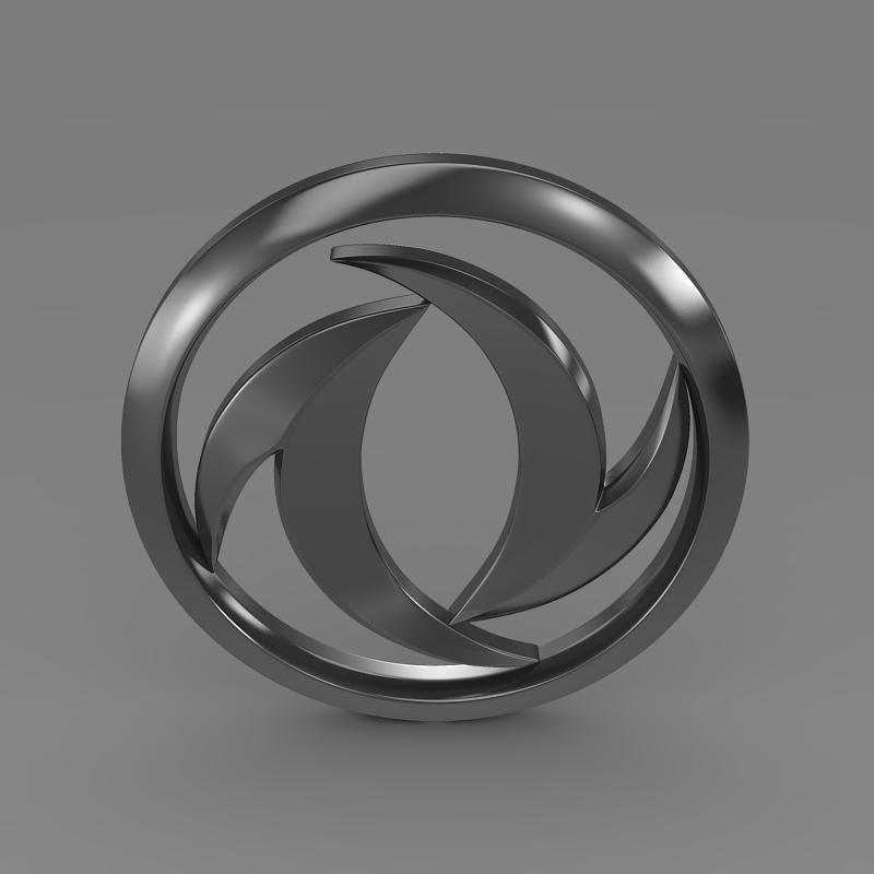 dong feng logo 3d model 3ds max fbx c4d lwo ma mb hrc xsi obj 121577