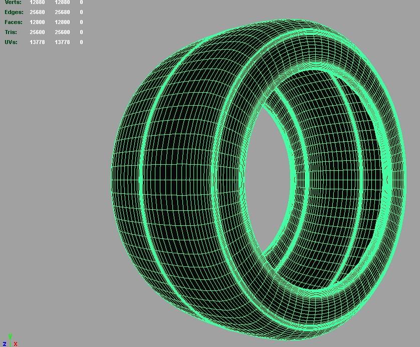 drift sport tire 3d model 3ds fbx c4d lwo ma mb hrc xsi obj 128324