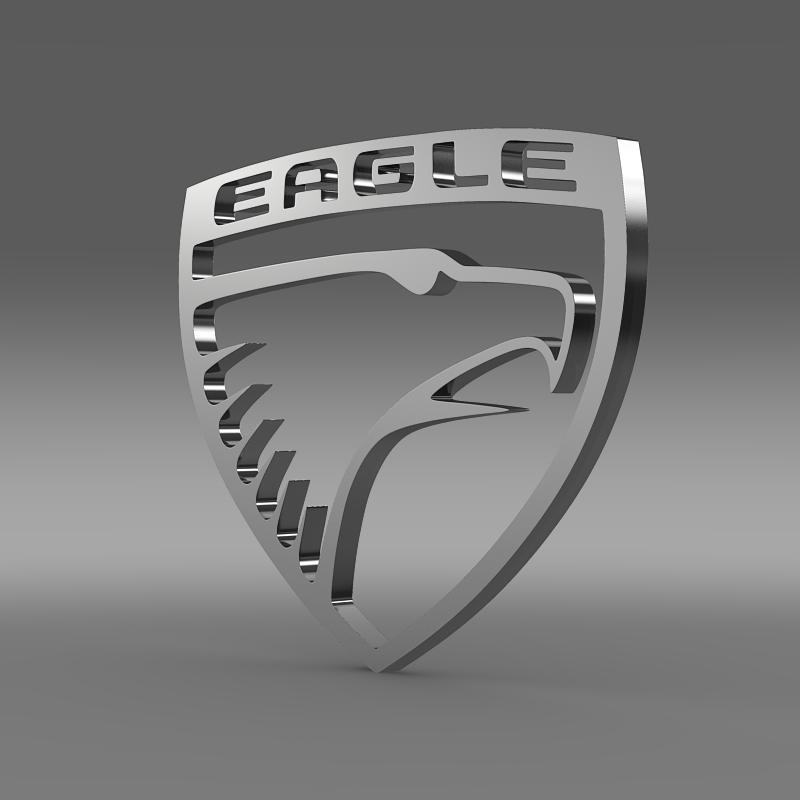 eagle logo 3d model 3ds max fbx c4d le do thoil le hrc xsi obj 152848
