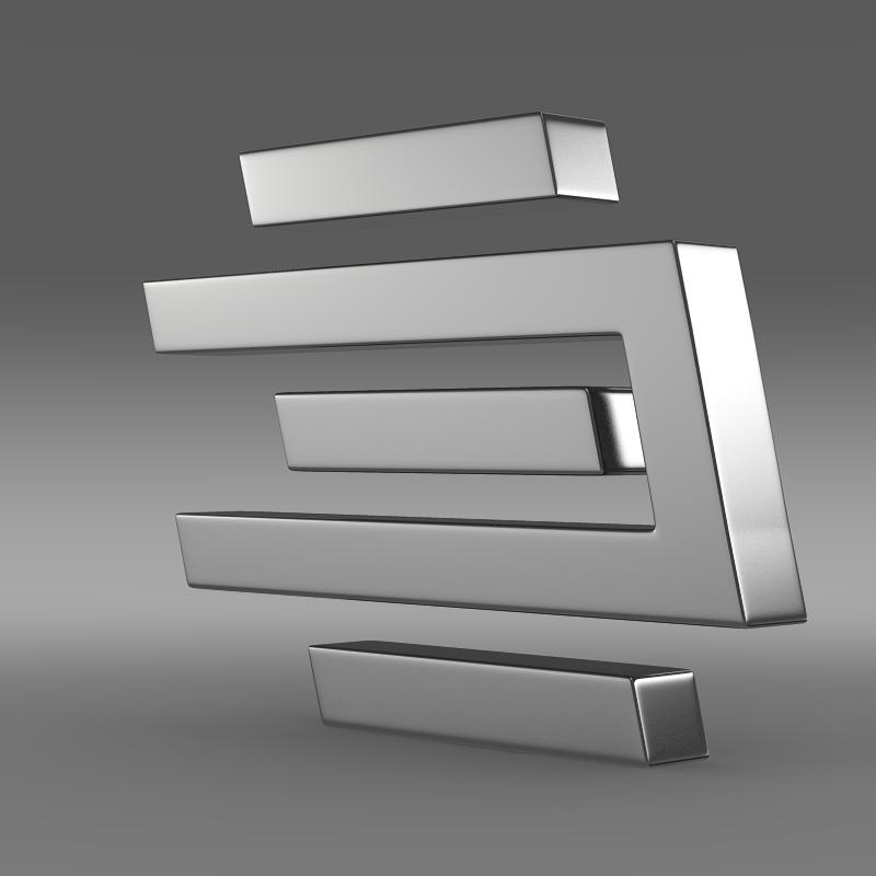 edag logo 3d model 3ds max fbx c4d lwo ma mb hrc xsi obj 117485