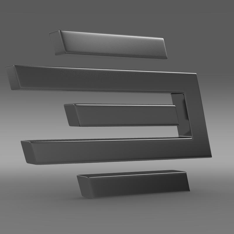 edag logo 3d model 3ds max fbx c4d lwo ma mb hrc xsi obj 117487