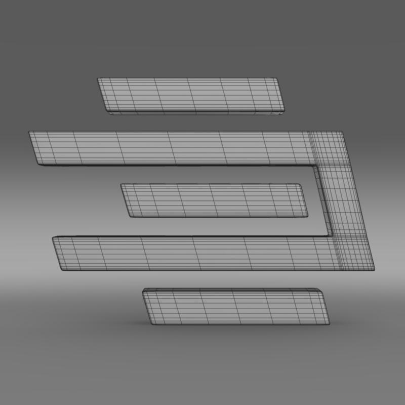 edag logo 3d model 3ds max fbx c4d lwo ma mb hrc xsi obj 117491