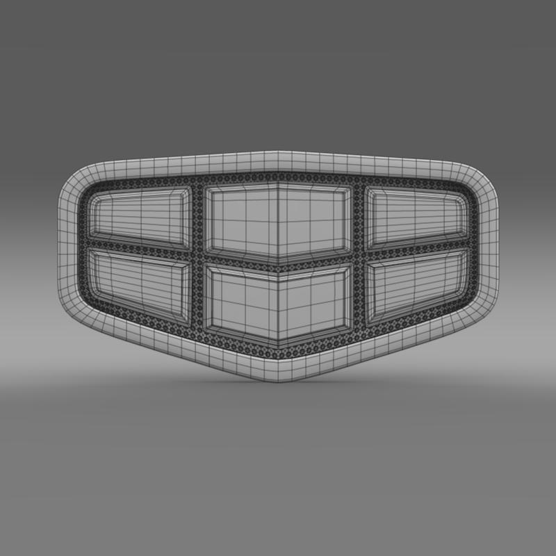 emgrand logo 3d model 3ds max fbx c4d lwo ma mb hrc xsi obj 124155