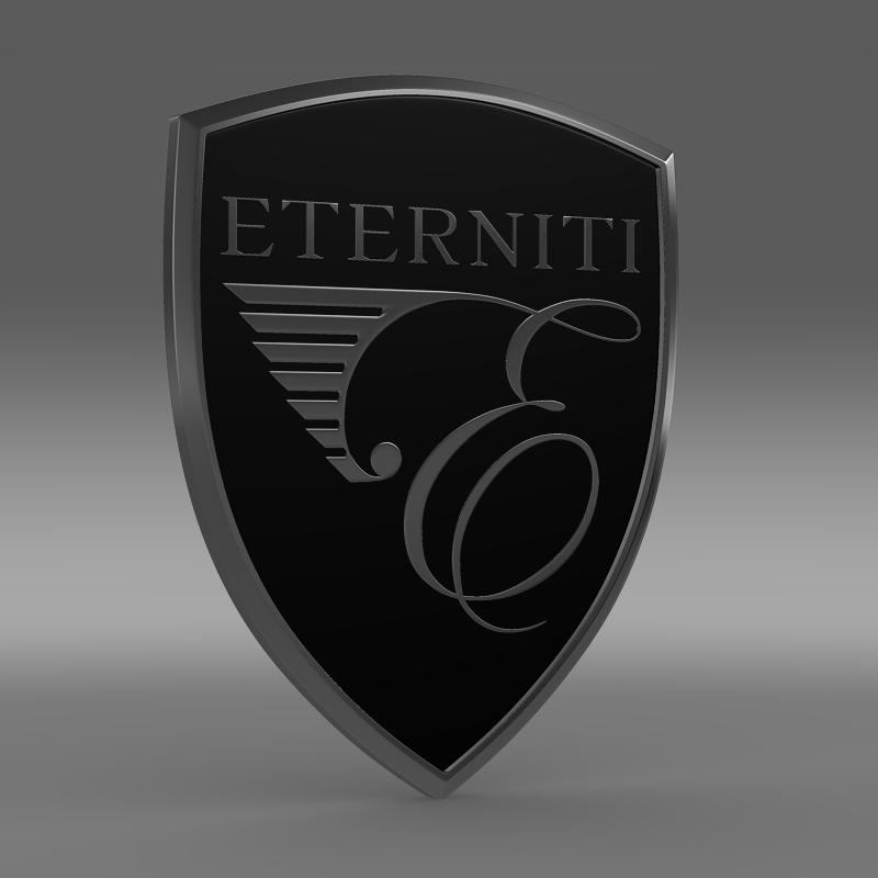eternity logo 3d model 3ds max fbx c4d lwo ma mb hrc xsi obj 152870