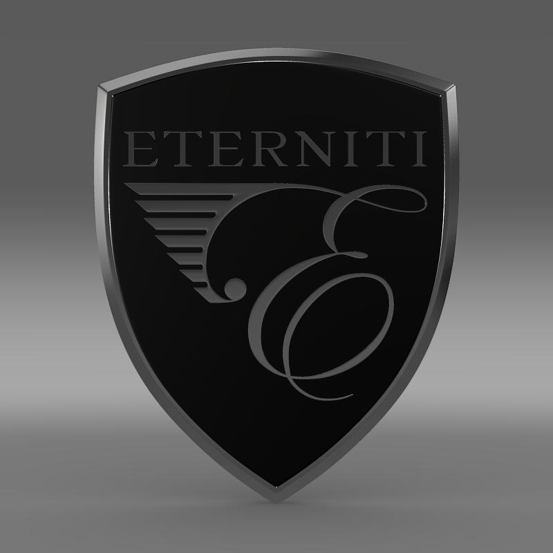 eternity logo 3d model 3ds max fbx c4d lwo ma mb hrc xsi obj 152871