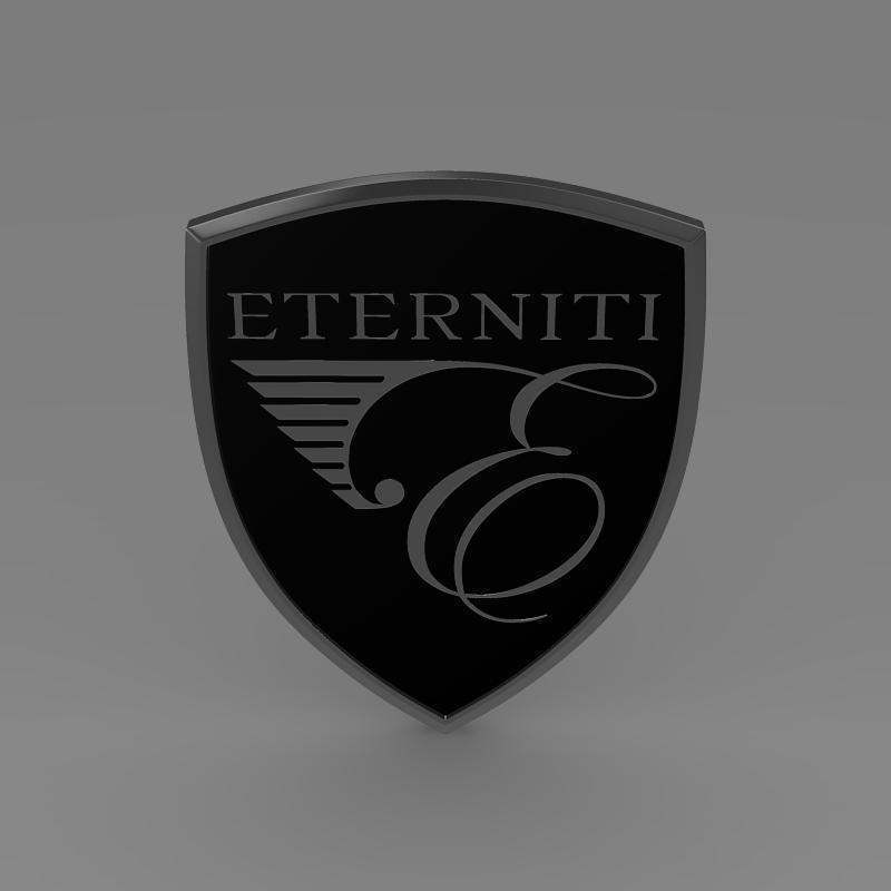 eternity logo 3d model 3ds max fbx c4d lwo ma mb hrc xsi obj 152872
