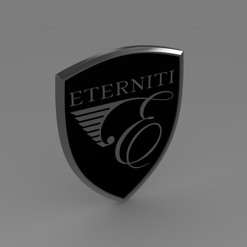 eternity logo 3d model 3ds max fbx c4d lwo ma mb hrc xsi obj 152873