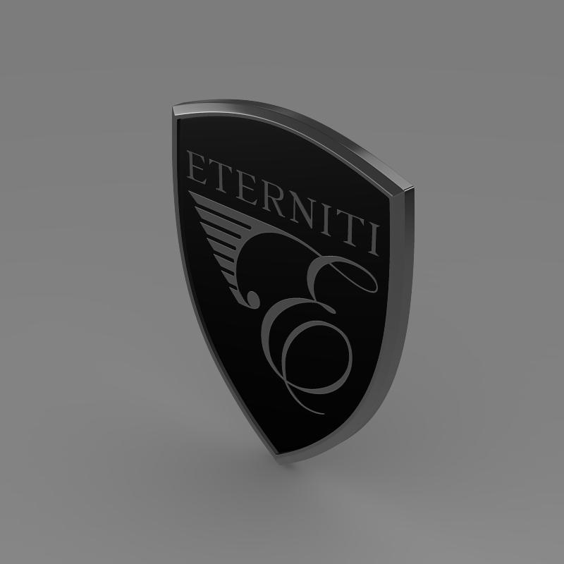 eternity logo 3d model 3ds max fbx c4d lwo ma mb hrc xsi obj 152874
