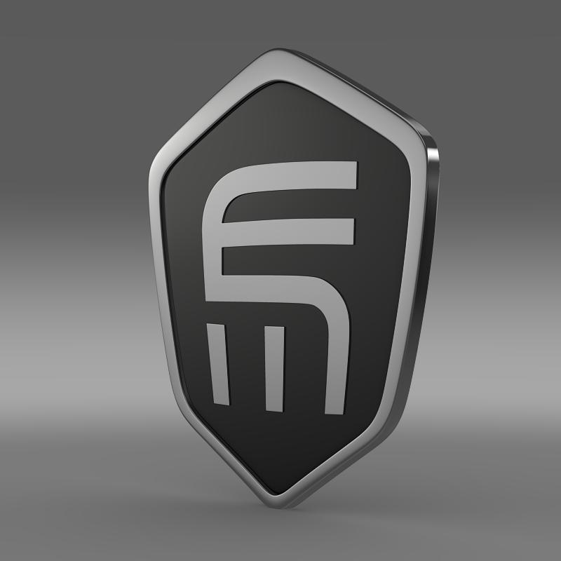 exagon logo 3d model 3ds max fbx c4d lwo ma mb hrc xsi obj 152876