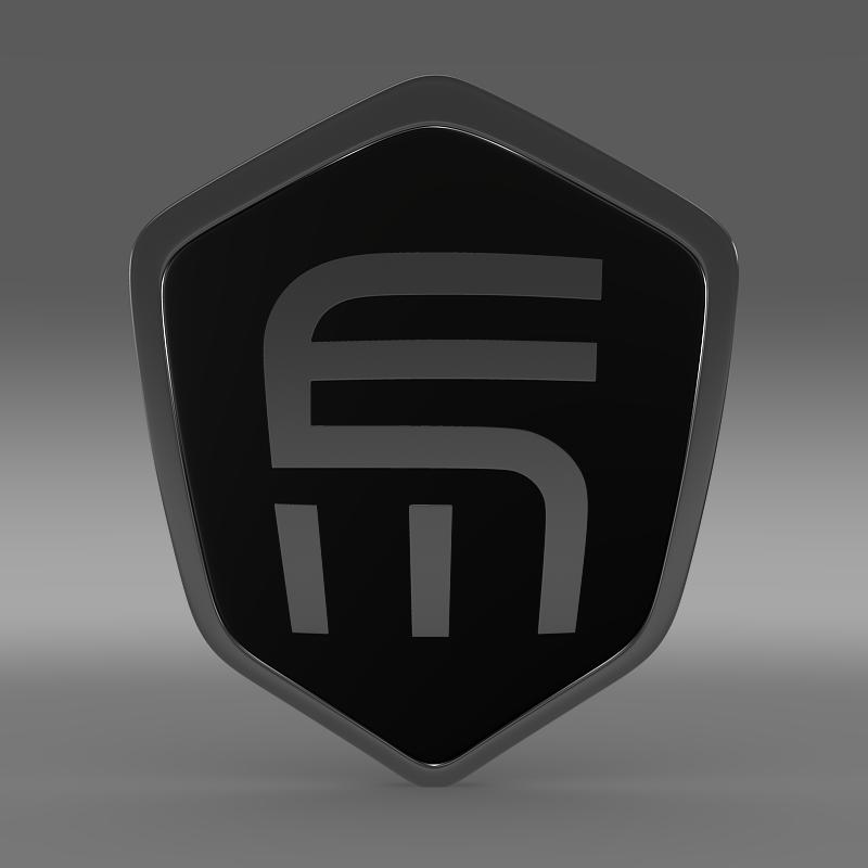 exagon logo 3d model 3ds max fbx c4d lwo ma mb hrc xsi obj 152877