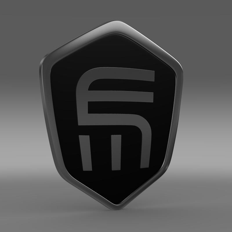 exagon logo 3d model 3ds max fbx c4d lwo ma mb hrc xsi obj 152878