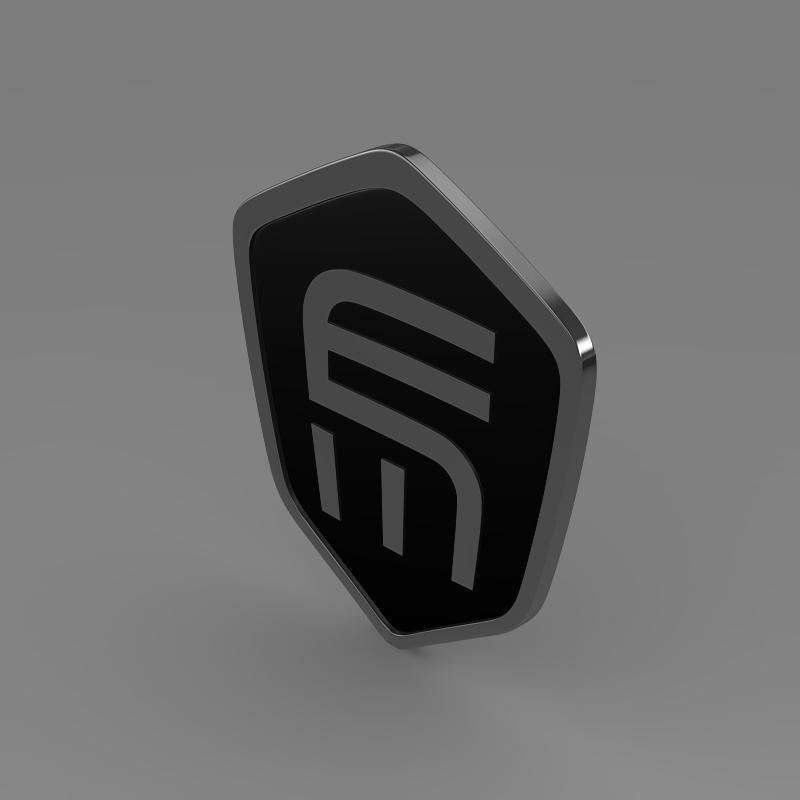 exagon logo 3d model 3ds max fbx c4d lwo ma mb hrc xsi obj 152879
