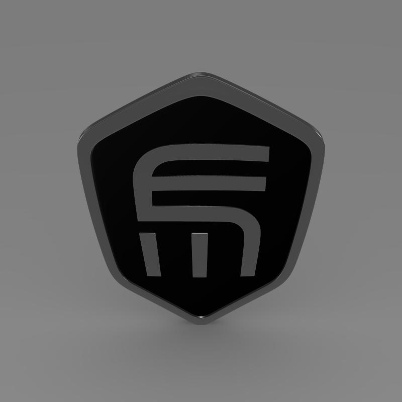 exagon logo 3d model 3ds max fbx c4d lwo ma mb hrc xsi obj 152880