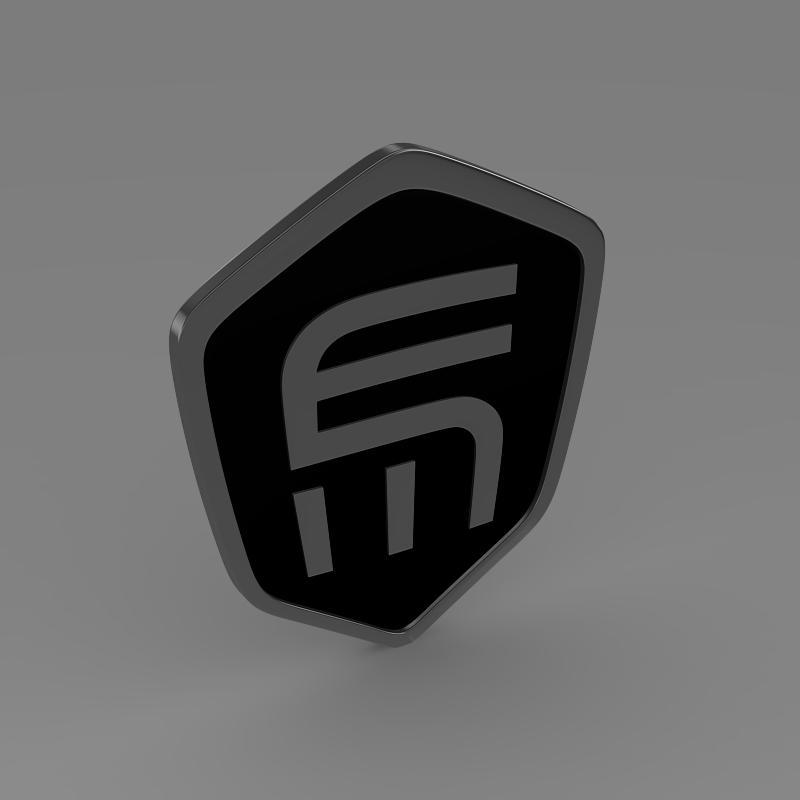 exagon logo 3d model 3ds max fbx c4d lwo ma mb hrc xsi obj 152881