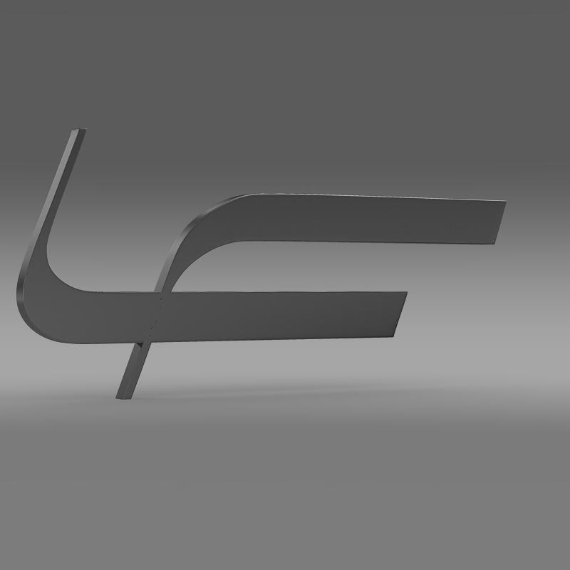 fioravanti logo 3d model 3ds max fbx c4d lwo ma mb hrc xsi obj 117494
