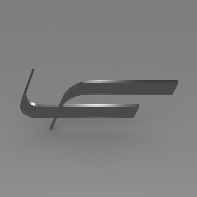 fioravanti logo 3d model 3ds max fbx c4d lwo ma mb hrc xsi obj 117496