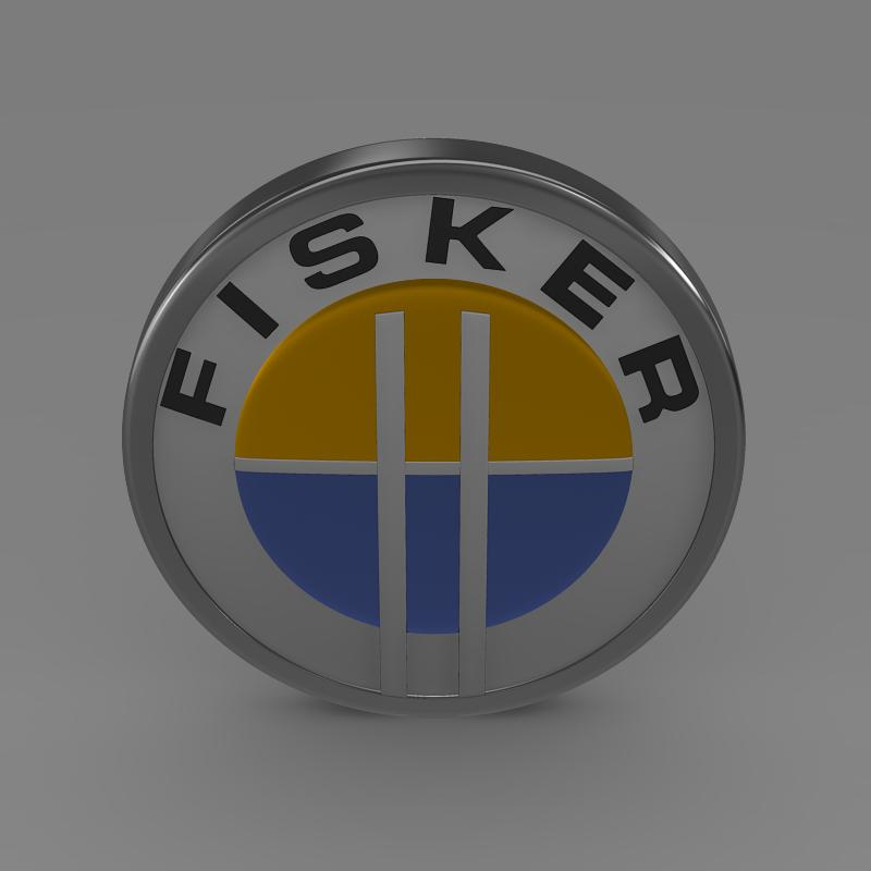 fisker logo 3d model � buy fisker logo 3d model flatpyramid