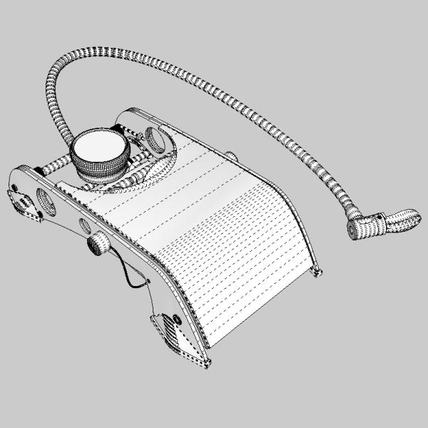 foot pump 3d model 3ds fbx skp obj 114878