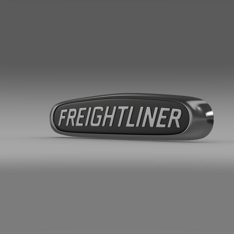freightliner logo 3d model 3ds max fbx c4d lwo ma mb obj 119172