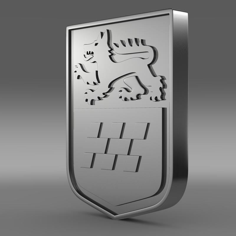 gta chrome logo 3d model 3ds max fbx c4d lwo ma mb hrc xsi obj 152321