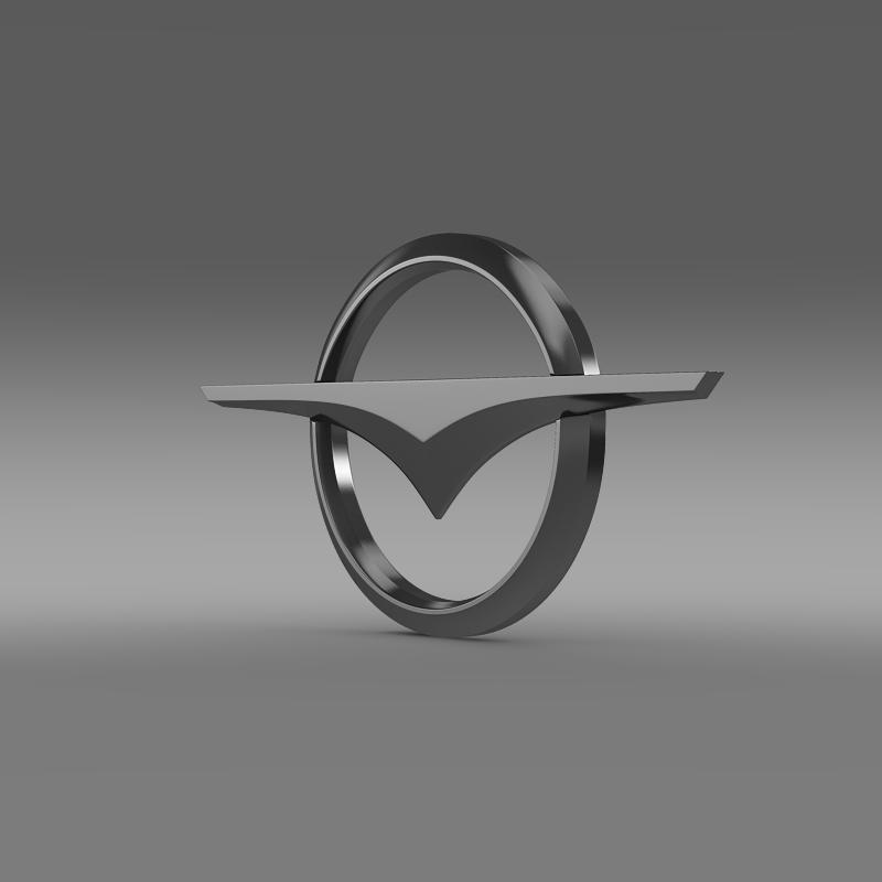 haima logo 3d model 3ds max fbx c4d lwo ma mb hrc xsi obj 118043