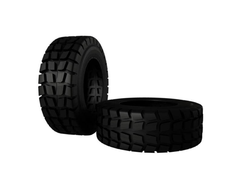 heavy vehicle tire 3d model 3ds fbx c4d lwo ma mb hrc xsi obj 128336