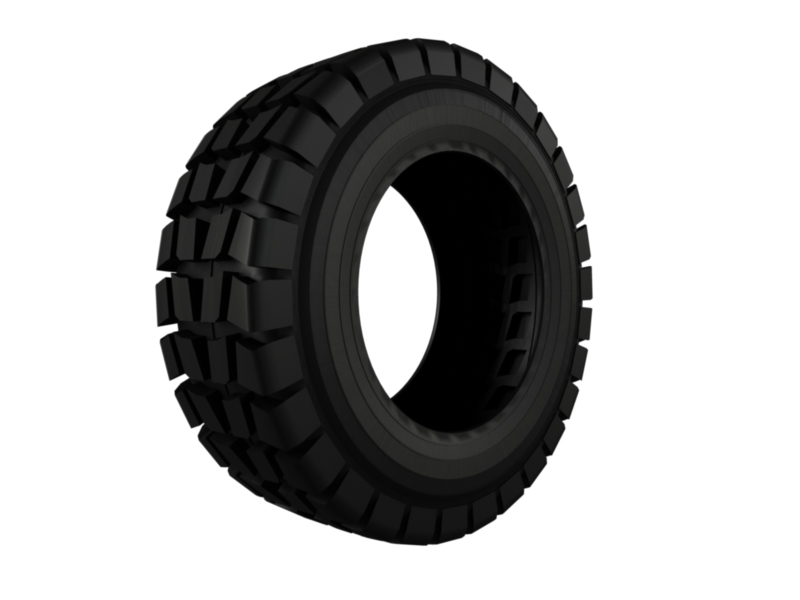 heavy vehicle tire 3d model 3ds fbx c4d lwo ma mb hrc xsi obj 128337