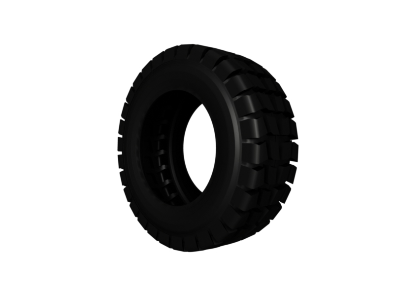 heavy vehicle tire 3d model 3ds fbx c4d lwo ma mb hrc xsi obj 128339