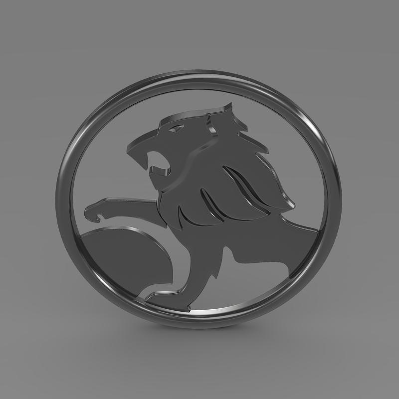 holden logo 3d model 3ds max fbx c4d lwo ma mb hrc xsi obj 124230