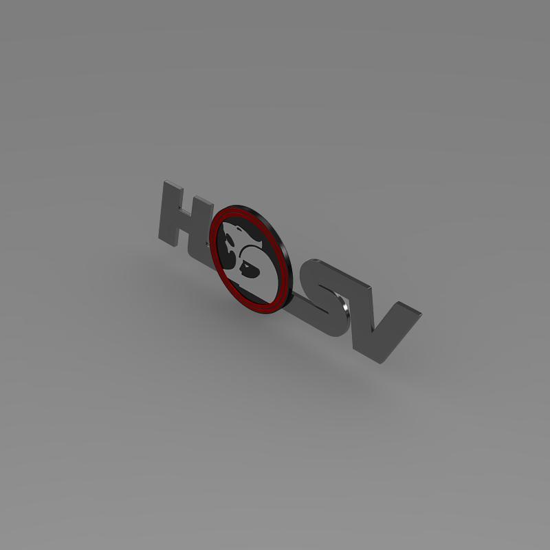 hsv logo 3d model 3ds max fbx c4d lwo ma mb hrc xsi obj 152909