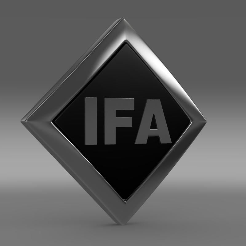 Ifa Logo 3D Model – Buy Ifa Logo 3D Model