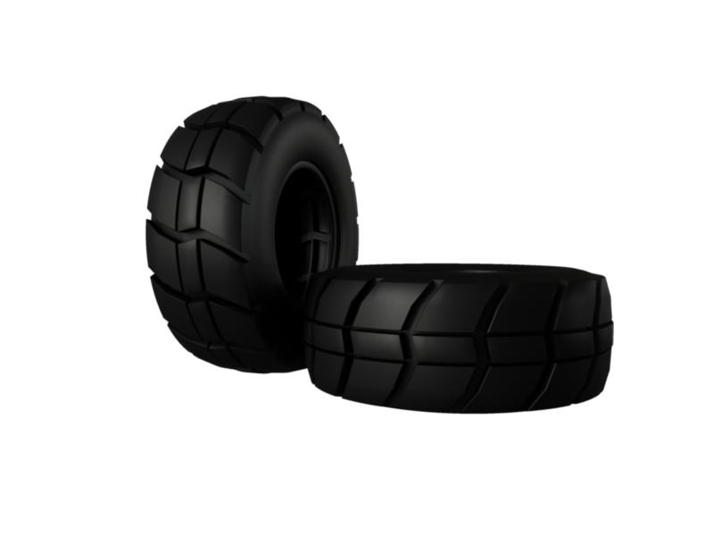 indastrial tire 3d model 3ds fbx c4d lwo ma mb hrc xsi obj 128341