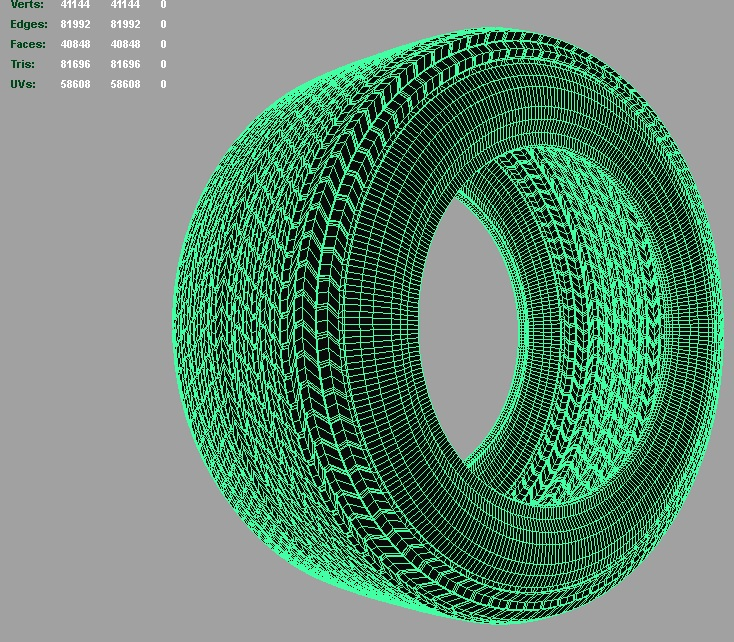 indy car tire 3d model 3ds fbx c4d lwo ma mb hrc xsi obj 128352