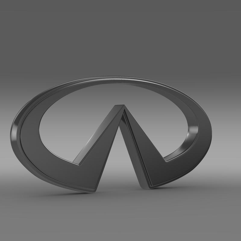 infiniti logo 2 3d model 3ds max fbx c4d lwo ma mb hrc xsi obj 117267