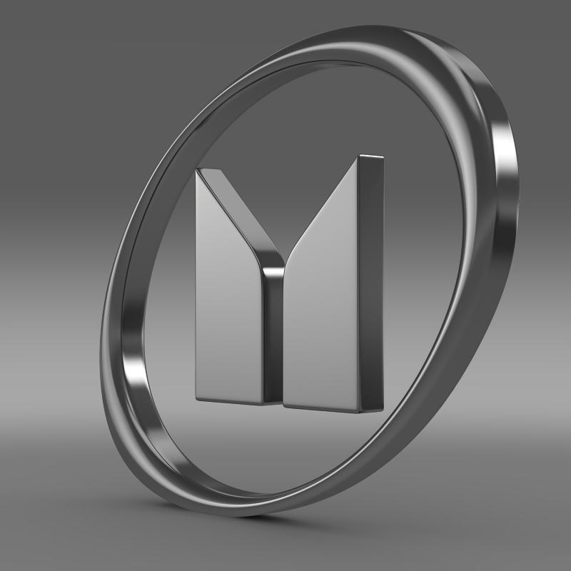 isuzu logo 3d model 3ds max fbx c4d lwo ma mb hrc xsi obj 117569