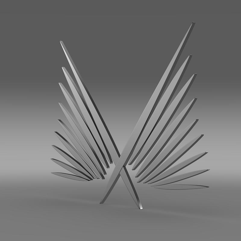 izaro logo 3d model 3ds max fbx c4d lwo ma mb hrc xsi obj 152911