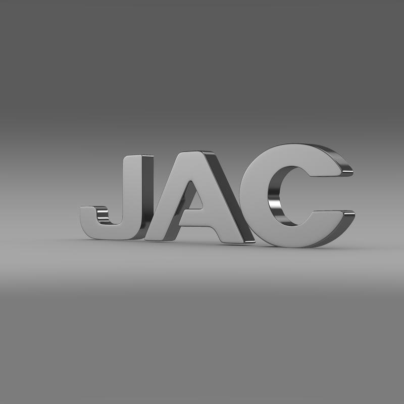 jac logo 1 3d model 3ds max fbx c4d lwo ma mb hrc xsi obj 124240