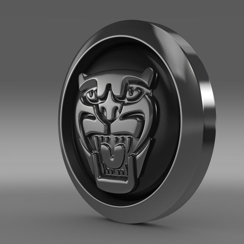 jaguar new logo 3d model 3ds max fbx c4d lwo ma mb hrc xsi obj 152918