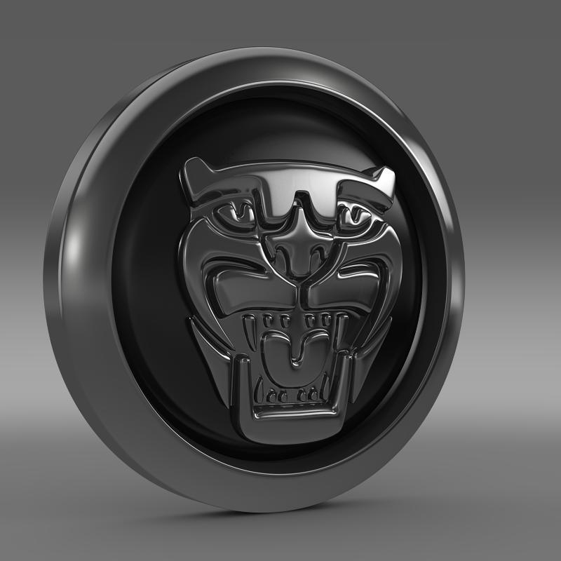 Jaguar New Logo 3d Model