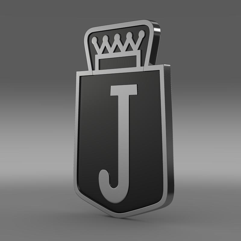 jensen logo 3d model 3ds max fbx c4d lwo ma mb hrc xsi obj 152335